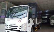 isuzu 1.950kg, thùng bạt 4.5m, đầu vuông, KM máy lạnh, 9 phiếu
