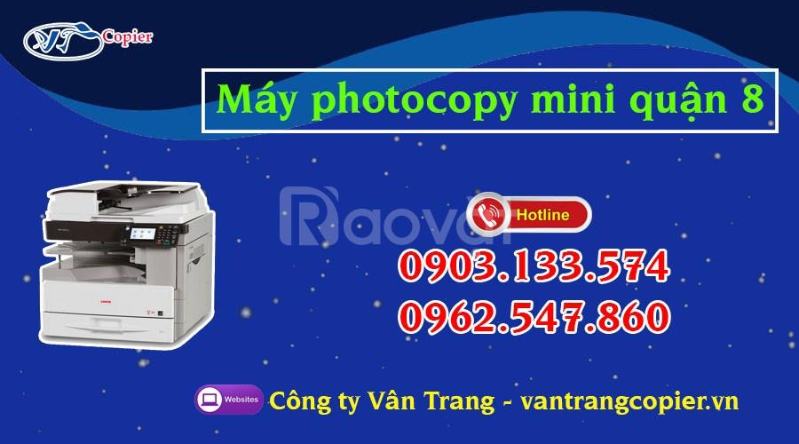 Máy photocopy mini quận 8