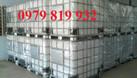 Bán tank IBC 1000l có khung sắt, bồn nhựa có van xả (ảnh 4)