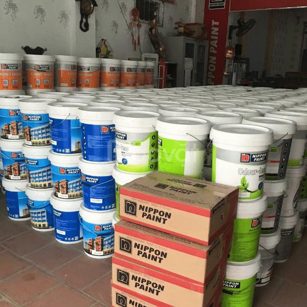 Đại lý sơn nước nội thất Nippon Odour Less siêu bóng giá tốt