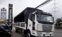 Xe tải faw 8 tấn thùng dài 9m7, chuyên chở palet chạy hàng Bắc Nam.