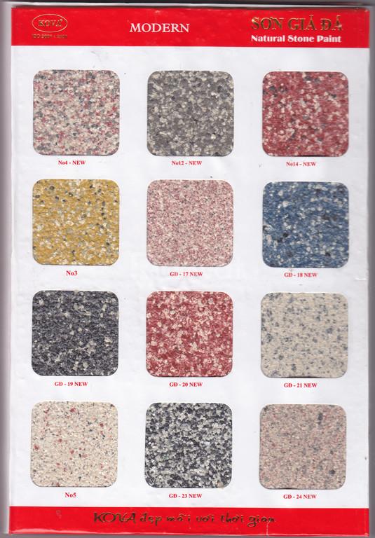 Đại lý phân phối chính thức sơn giả đá Kova giá rẻ cho công trình