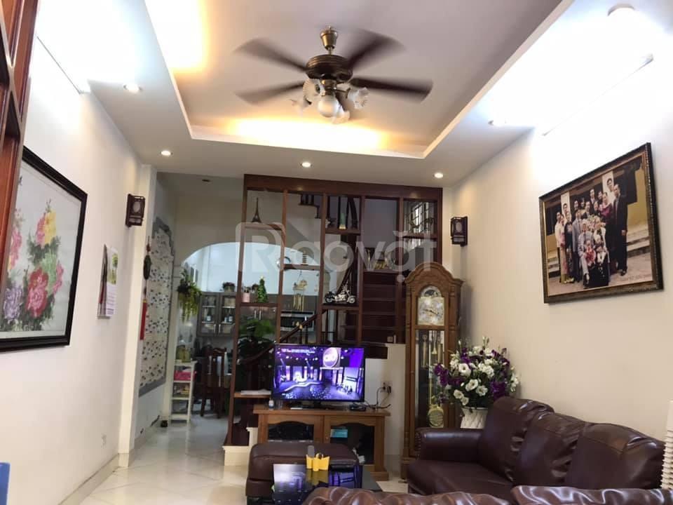 Bán nhà 5 tầng  – lô góc  – kinh doanh – ngõ thông  –  Trần  Duy Hưng