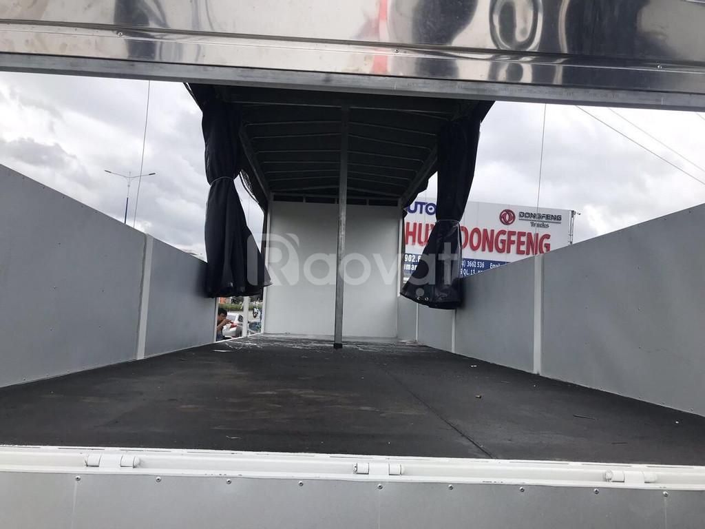 Xe tải faw 8 tấn thùng dài 10 mét, chạy hàng Bắc Nam.