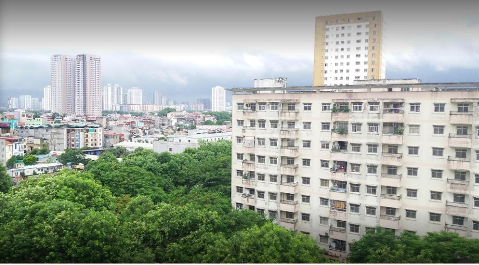 CH 3 ngủ 81 m2 NƠ 8 KĐT Pháp Vân, Hoàng Mai 1.25 tỷ hướng Nam