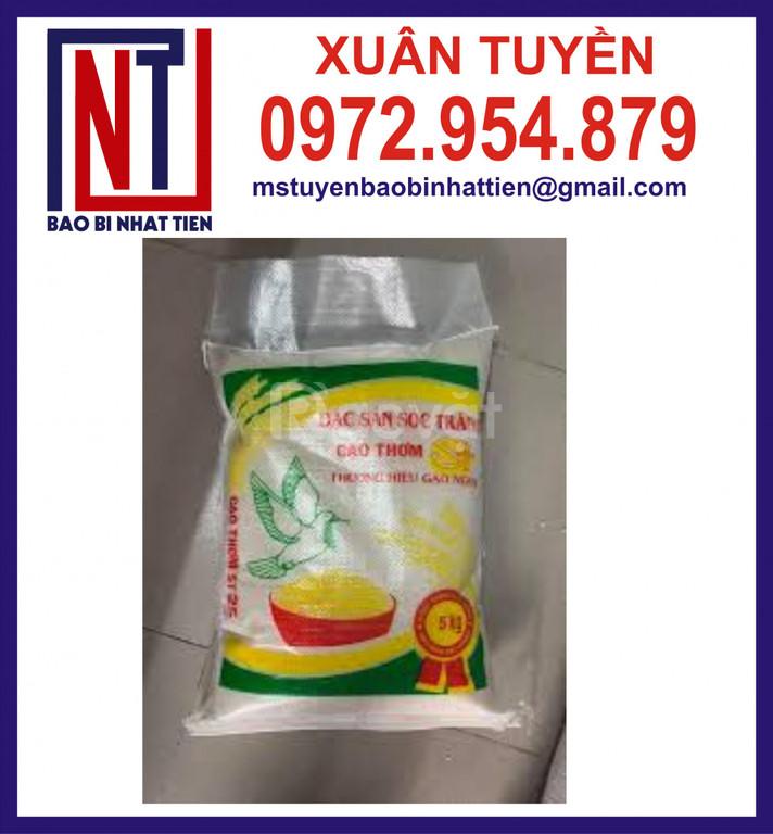Chuyên in bao đựng gạo 5kg, 10kg (ảnh 1)
