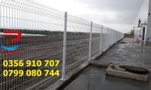 Hàng rào lưới thép, hàng rào thép giá tốt, hàng rào kho