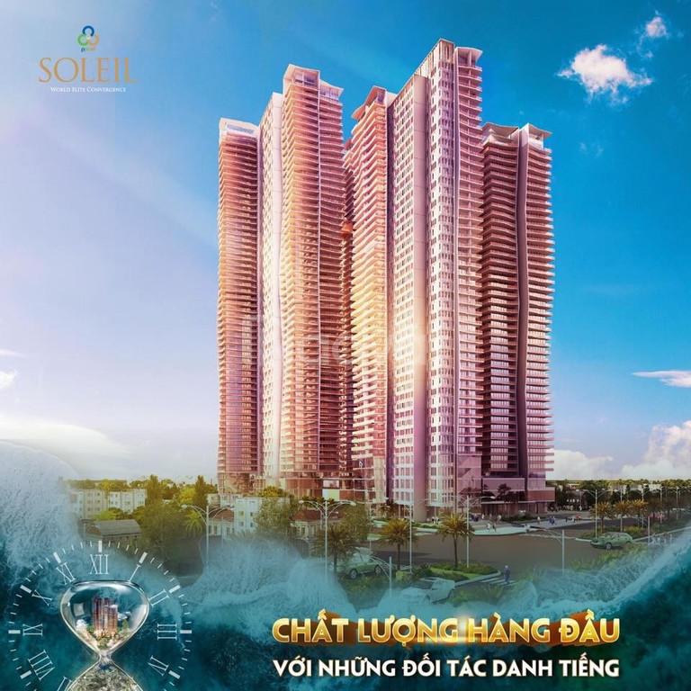 100 căn hộ Soleil Ánh Dương cao cấp đường Võ Nguyễn Giáp