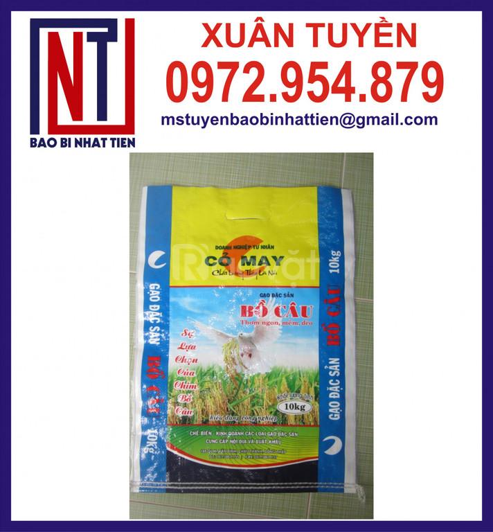 Chuyên in bao đựng gạo 5kg, 10kg (ảnh 3)