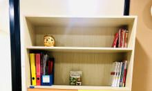 Tủ gỗ đựng sách trang trí phòng khách hiện đại