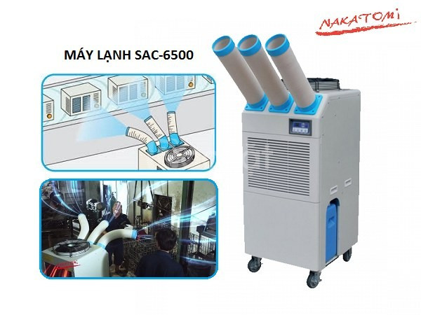Báo giá máy lạnh di động Nakatomi 6500