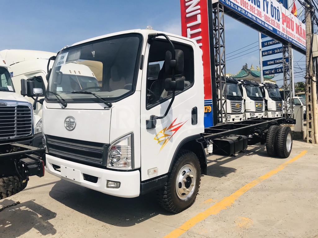 Xe tải faw 8 tấn - ga cơ động cơ Hyundai