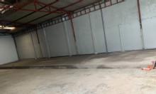 Cho thuê nhà xưởng, kho bãi 400m2 hẻm C7D Phạm Hùng