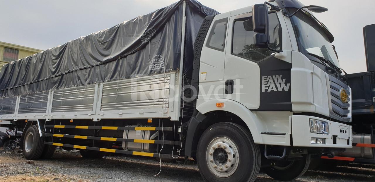 Xe tải faw 8 tấn thùng dài 10 mét, KM quà tặng 20Tr