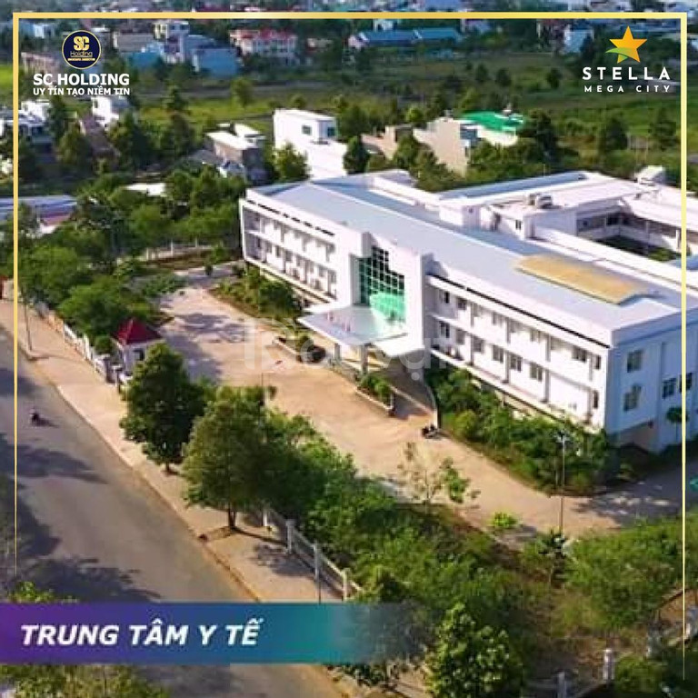 Bán lô đất thổ cư 5x22m2 mặt tiền lộ lớn (25m) giá chỉ 23.9tr/m2