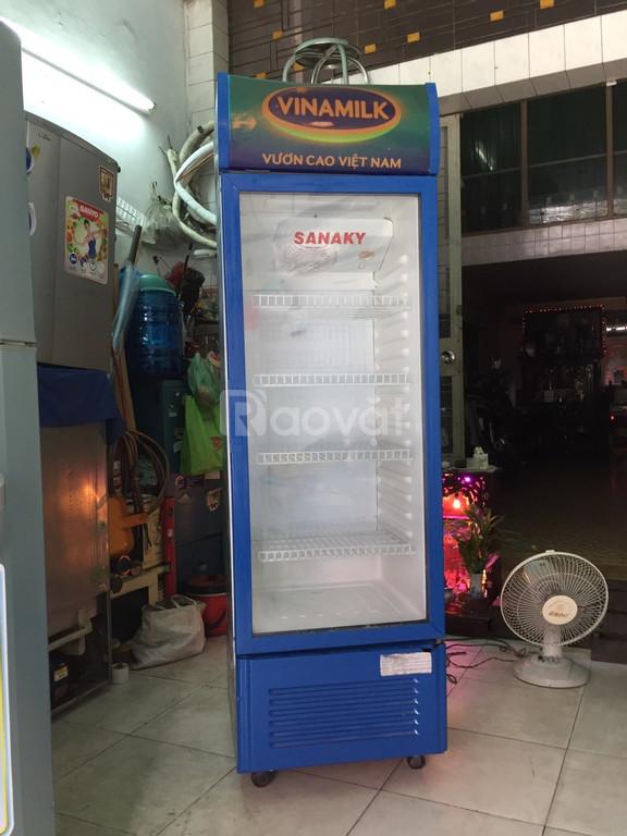 Tủ mát Sanaky 300 lít, hàng zin, đẹp, 4 ngăn đựng (ảnh 1)