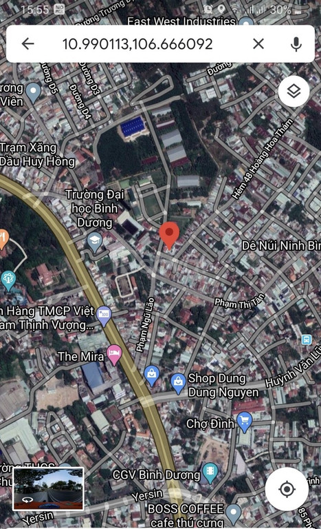 Bán đất đường Nguyễn Bình gần đại học Bình Dương, Thủ Dầu Một
