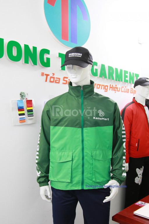 Xưởng may áo khoác quà tặng Thượng Tín