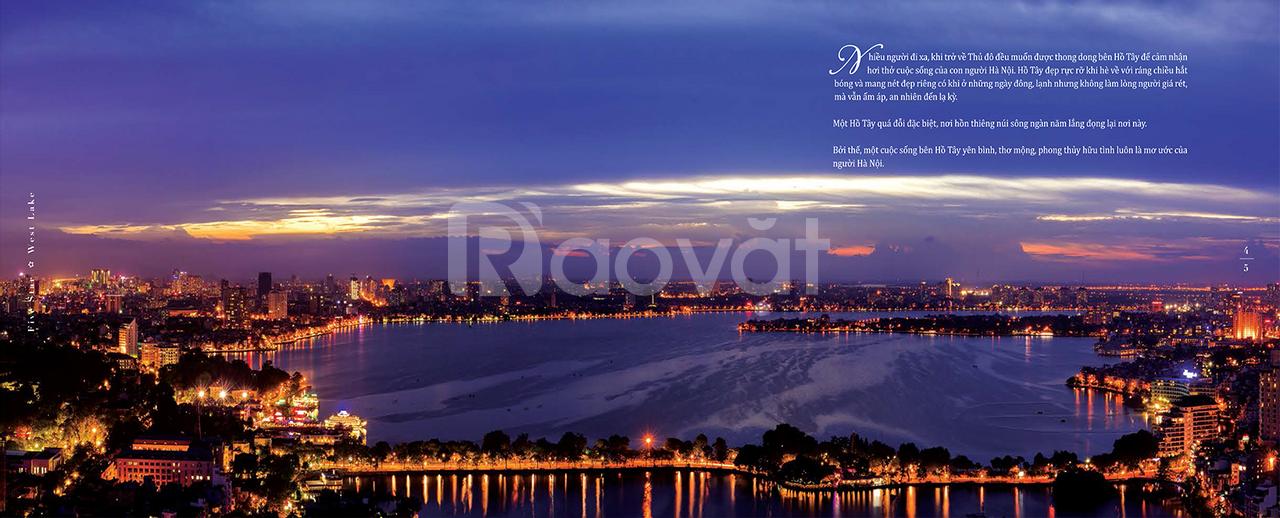 Chung cư 162 Hoàng Hoa Thám view trọn Hồ Tây - Five Star WestLake