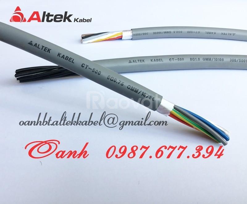 Cáp điều khiển cu/pvc/pvc, cáp điều khiển cu/pvc/shield/pvc altek kabe
