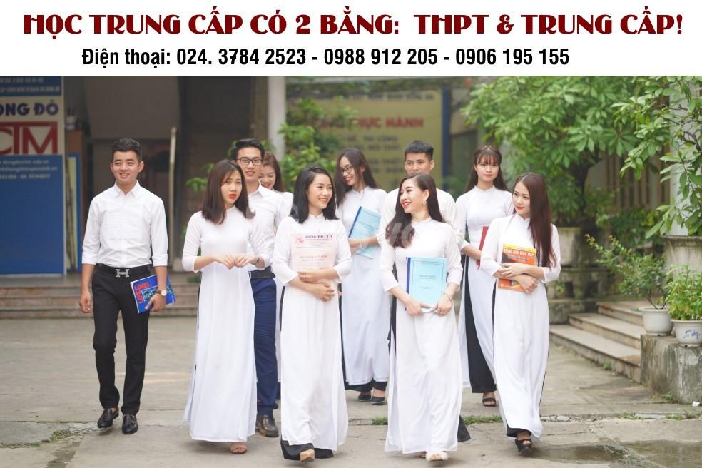 Học THPT trong trường Trung cấp lựa chọn mới cho học sinh hết lớp 9