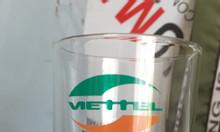 Ly thủy tinh in ấn logo làm quà tặng khách hàng tại Quảng Nam