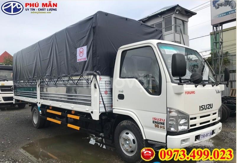 Xe tải isuzu 1t9 thùng dài 6m2 / Xe tải 1.9 tấn thùng dài 6m2