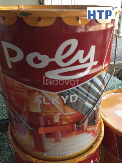 Nơi bán sơn dầu poly màu đỏ 210 giá rẻ nhất toàn quốc