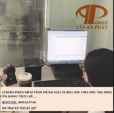 Chuyên máy tính tiền giá rẻ cho MiniMart tại BMT