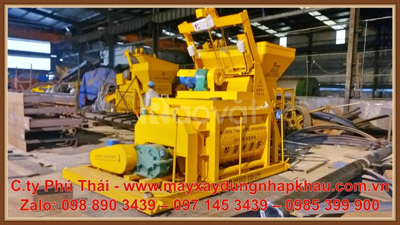 Máy trộn bê tông Js500 giá rẻ , giao hàng trên toàn quốc.