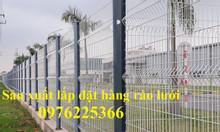 Hàng rào lưới thép hàn, hàng rào mạ kẽm