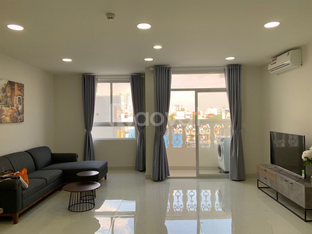 Bán căn hộ Grand RiverSide Quận 4, căn góc 3PN full nội thất