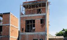 Nhà 3 tầng xây hoàn thiện không nội thất