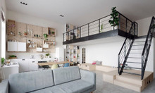 Cần bán căn hộ chung cư Xuân Mai Thanh Hóa 39m2, 1PN đầy đủ nội thất