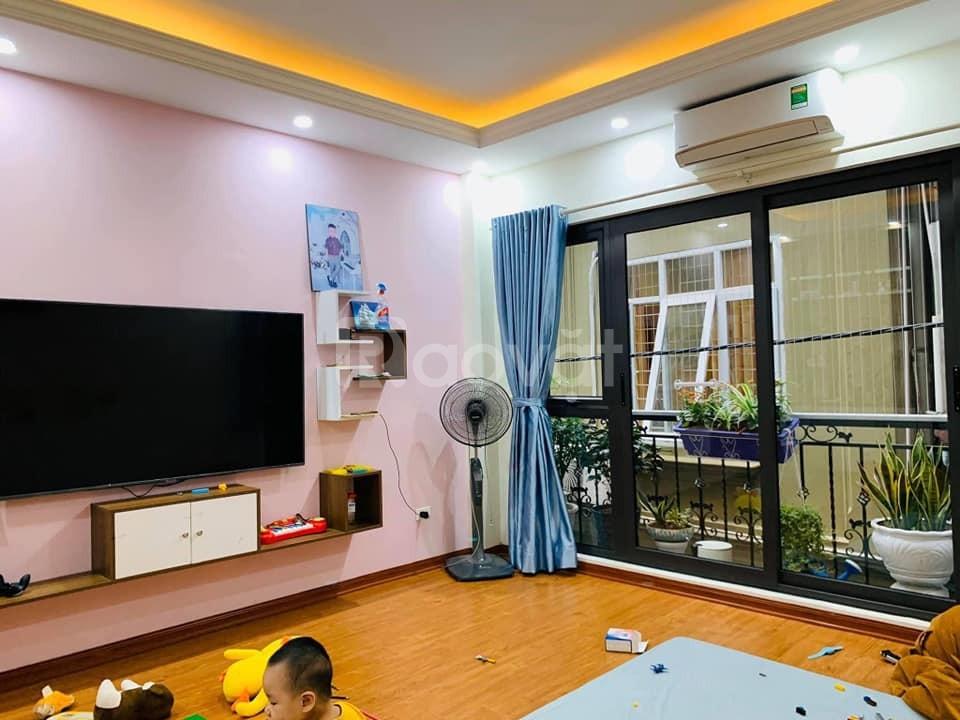Nhà liền kề KĐT Định Công 92m 5 tầng kinh doanh