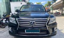 Bán Lexus LX 570 nhập Mỹ màu đen sx 13 đk 15