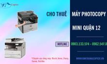 Hệ thống máy photocopy mini quận 12