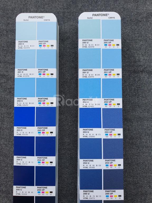 Bảng màu Pantone Color Bridge Coated Uncoated GP6102A phiên bản 2020  (ảnh 5)
