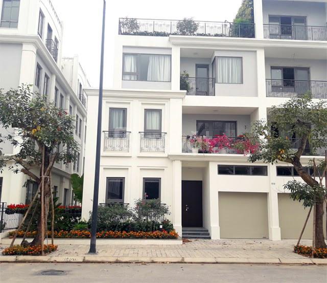 Biệt thự song lập Dự án The Manor Central Park Nguyễn Xiển