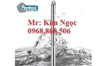 0968868506 nhà máy bơm giếng khoan pentax 1.5kw 3kw 5.5kw ống 110mm