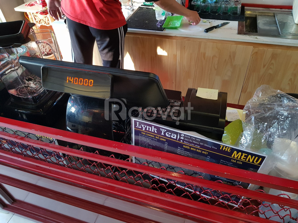 Bộ máy tính tiền cảm ứng cho quán trà sữa tại Hưng Yên giá rẻ (ảnh 1)