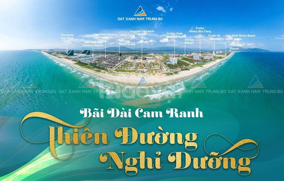 Đất nền Cam Lâm thủ phủ du lịch biển Nha Trang