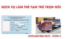 Làm thẻ tạm trú 2 năm cho khách nước ngoài ở Long An