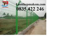 Hàng rào lưới thép, lưới hàng rào mạ kẽm