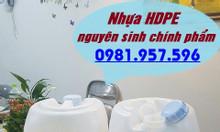 Can nhựa HDPE 20L, can có seal chống tràn