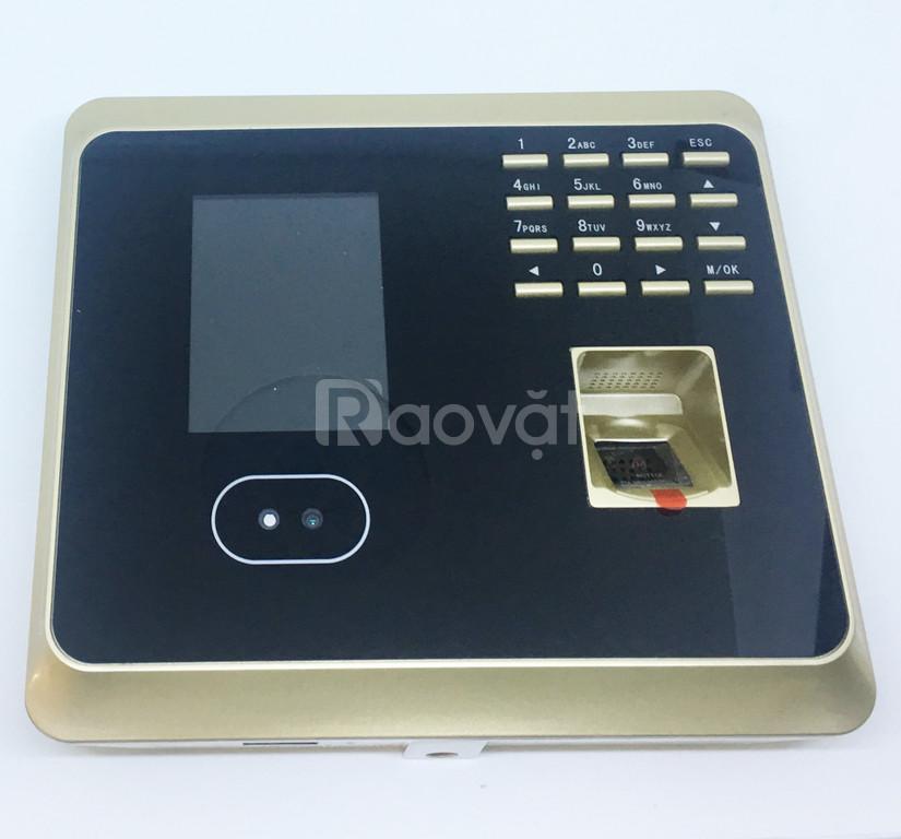 Máy chấm công wifi vân tay/khuôn mặt/ pass UF100  (ảnh 1)