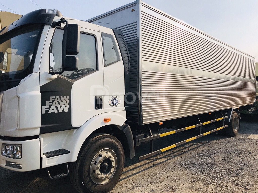 Xe tải thùng dài 10m giá rẻ ở Bình Dương   faw 7t3 thùng dài 10m.