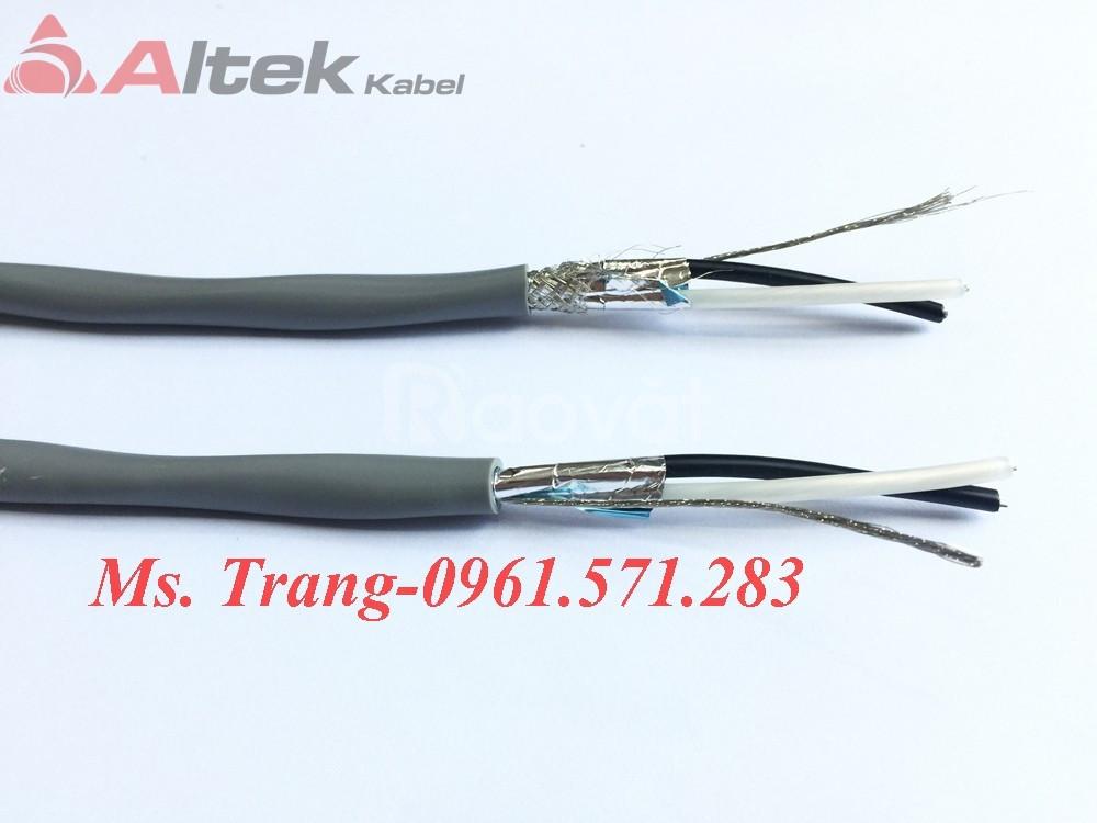 Cáp tín hiệu lõi vặn xoắn chống nhiễu Altek Kabel, có đầy đủ CO,CQ (ảnh 6)