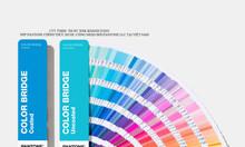 Bảng màu Pantone Color Bridge Coated Uncoated GP6102A phiên bản 2020