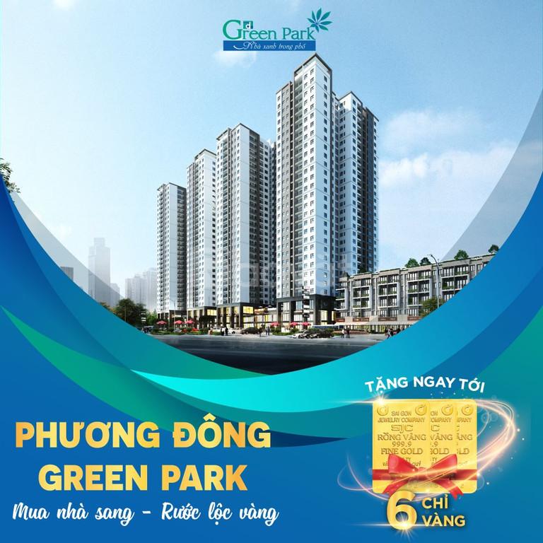 Phương Đông Green Park sở hữu ngay căn hộ view hồ chỉ 1,4tỷ